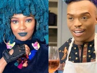 Musician, choreographer and Idols Judge; Somizi recently shared a video of himself and singer Moonchild Sanelly at