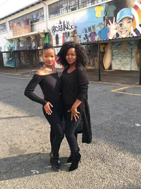 Omphile And Her Mother